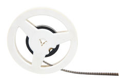 Film reel. Isolated on white with clipping path Royalty Free Stock Photo
