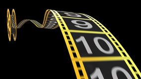 Film reel. For your cinema concept Stock Photos