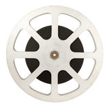 Film reel. (16 mm) isolated on white background Royalty Free Stock Image