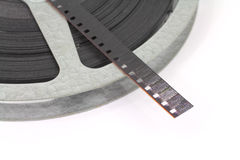 Film on reel Stock Photos