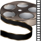 Film reel. Special film reel for your website Royalty Free Stock Photography