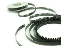 Film reel. Close up ,shot,Film reel 8mm Royalty Free Stock Image