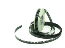 Film reel. 8mm Film reel close up Royalty Free Stock Photos