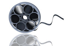 Film reel. 3D render of a film reel royalty free illustration