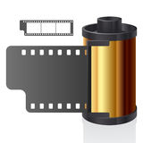 Film reel. Vector illustration of a film reel vector illustration