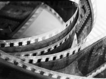 Film reel. Portion of movie film reel Royalty Free Stock Image