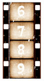 Film reel. Old 35 mm movie Film reel,2D digital art Royalty Free Stock Photo