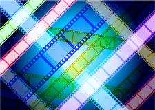 Film Reel Background Royalty Free Stock Photo