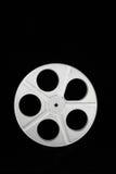 Film reel on black Stock Image