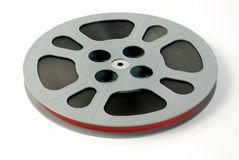 Film reel closeup Royalty Free Stock Image