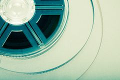 Film reel concept Royalty Free Stock Image