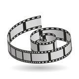 Film reel design , vector illustration. Movie concept with icon design, vector illustration 10 eps graphic Royalty Free Stock Photography