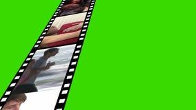 Film Reel of Footage stock video footage