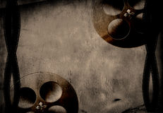 Film and reel grunge. Background Stock Photography