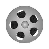 Film reel icon Stock Images