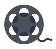 Film reel icon Royalty Free Stock Photo