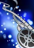Film reel internet background. Original Vector Illustration: film reel internet background Stock Photos