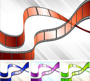 Film Reel Set Royalty Free Stock Image