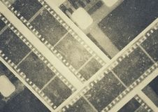Film Reel Strips Vintage Design