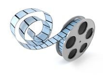 Film reel. On white background Stock Images