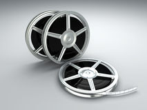 Film Reels Royalty Free Stock Images