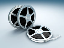 Film Reels Stock Image