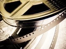 Film reels Royalty Free Stock Photography