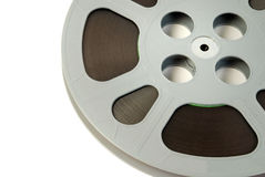 Film reels closeup Royalty Free Stock Photos