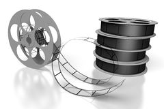 Film reels - movie concept Royalty Free Stock Photography