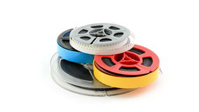 Film reels stock video footage