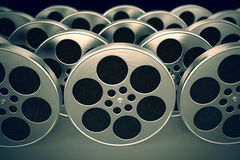 Film reels. Royalty Free Stock Photos
