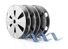 Film reels Stock Images