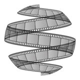 Film ribbon Stock Image