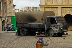 Film robi w Lublin (Kamień na Szaniec) Obrazy Stock
