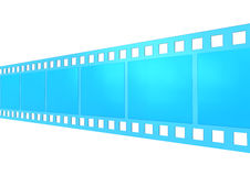 Film roll. Illustration of a film roll Royalty Free Stock Photography