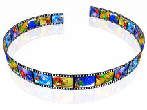Film roll Royalty Free Stock Image