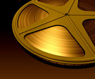 Film Roll. In dark ambience stock illustration