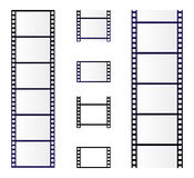 Film roll. Simple illustration of film roll on white background vector illustration