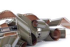 Film roll analog camera isolated Stock Photography