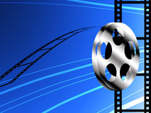 Film roll background. Film industry concept Royalty Free Stock Image
