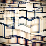 Film roll background Stock Images
