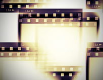 Film roll background Stock Image