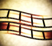 Film roll background Royalty Free Stock Photos