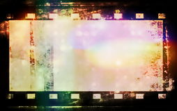 Film roll background and texture Royalty Free Stock Photos