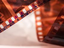 Film Roll close up Royalty Free Stock Image