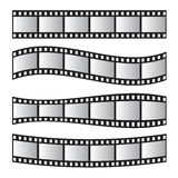 Film roll , film 35mm, slide film frame set. Negative and strip Stock Image