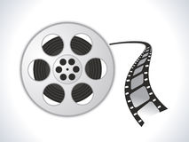 Film roll icon Stock Image