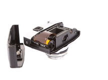 Free Film Roll Inside Old Retro Camera I Stock Image - 38099501