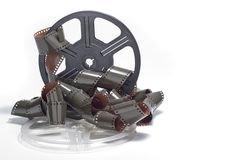 Film roll reel isolated Royalty Free Stock Photography
