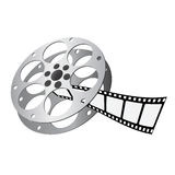 Film roll vector. Film roll illustration vector 1 Royalty Free Stock Images